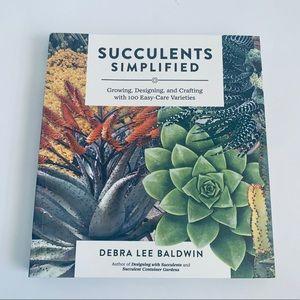 Other - Succulents Simplified By Debra  Lee Baldwin Book